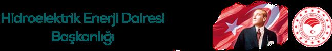 Devlet Su İşleri Genel Müdürlüğü Hidroelektrik Enerji Dairesi Başkanlığı  Sağ Logo
